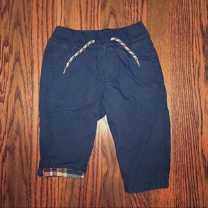 Baby Gap Flannel lined boys pants